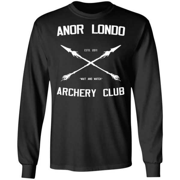 Anor Londo Archery Club 2011 T-Shirts, Hoodies, Sweatshirt