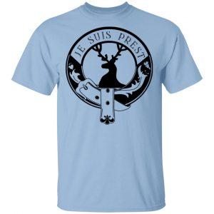 Je Suis Prest Logo #Outlander T-Shirts, Hoodies, Sweatshirt
