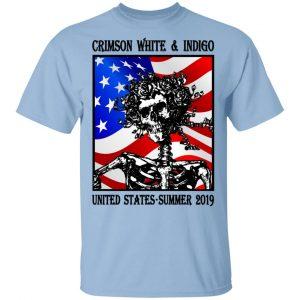 Crimson White & Indigo United States Summer 2019 T-Shirts, Hoodies, Sweatshirt Apparel