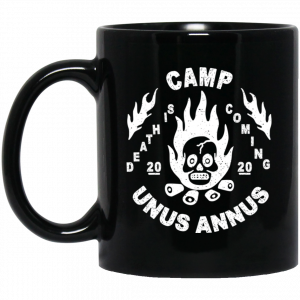 Camp Unus Annus 2020 Death Is Coming Mug