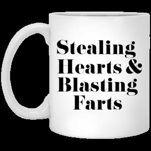 Stealing Hearts & Blasting Farts Mug