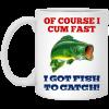 Je Suis Prest Logo Mug
