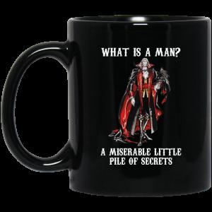 What Is A Man A Miserable Little Pile Of Secrets Black Mug