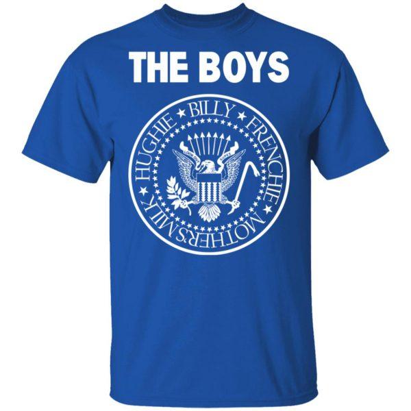 The Boys Hughie Billy Frenchie Mother's Milk T-Shirts, Hoodies, Sweatshirt Apparel 5