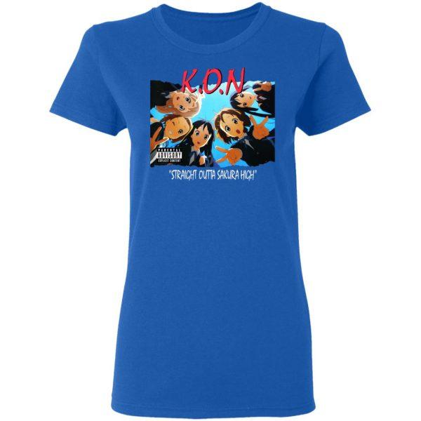 K.O.N Straight Outta Sakura High T-Shirts, Hoodies, Sweatshirt