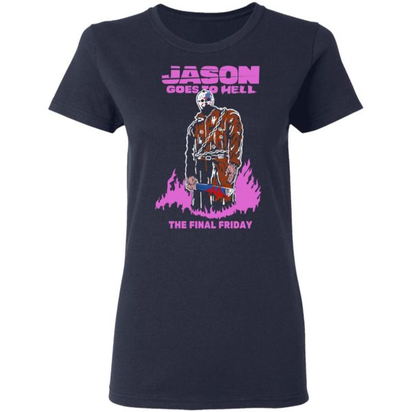 Jason Goes To Hell The Final Friday T-Shirts, Hoodies, Sweatshirt Apparel 9