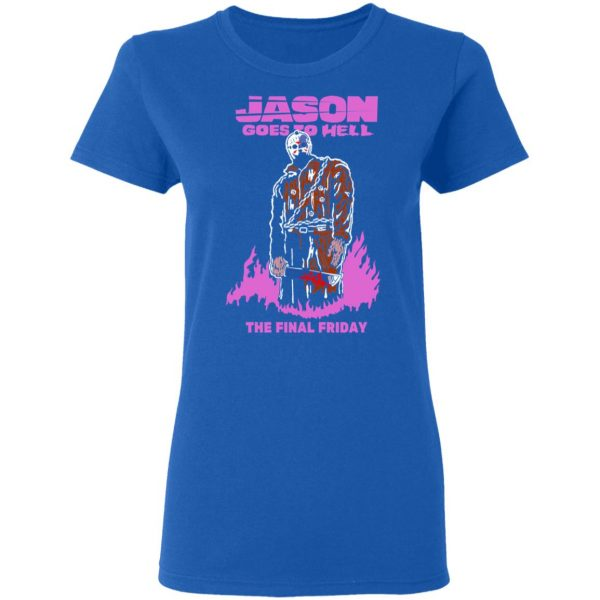 Jason Goes To Hell The Final Friday T-Shirts, Hoodies, Sweatshirt Apparel 10