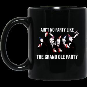 Ain't No Party Like The Grand Ole Party Black Mug