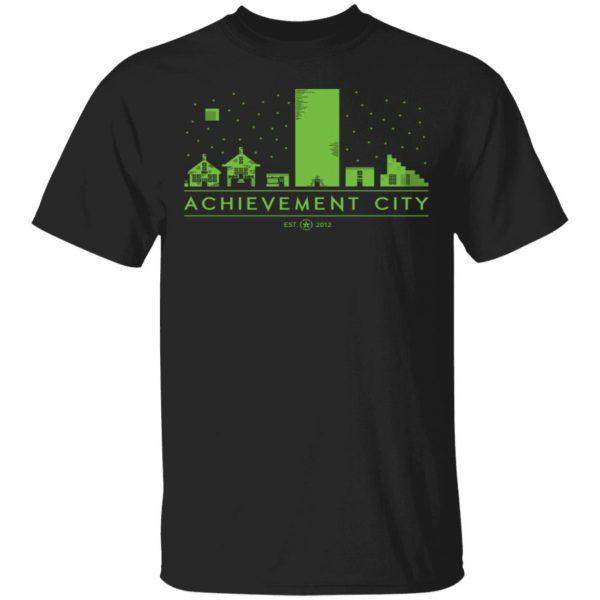 Achievement Hunter Achievement City Est 2012 T-Shirts, Hoodies, Sweatshirt