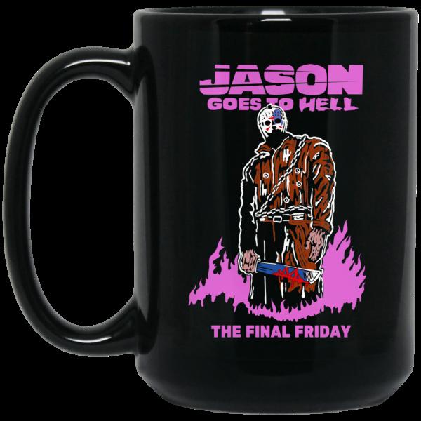 Jason Goes To Hell The Final Friday Mug