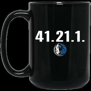 41.21.1 Dallas Mavericks Black Mug