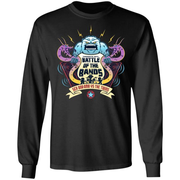 Battle Of The Bands Sex Bob-omb Vs The Twins T-Shirts, Hoodies, Sweater