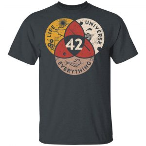 Science 42 Angel Number Life Universe Everything Number 42 T-Shirts, Hoodies, Sweater