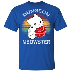 Dungeon Meowster Retro Vintage Funny Cat T-Shirts, Hoodies, Sweater