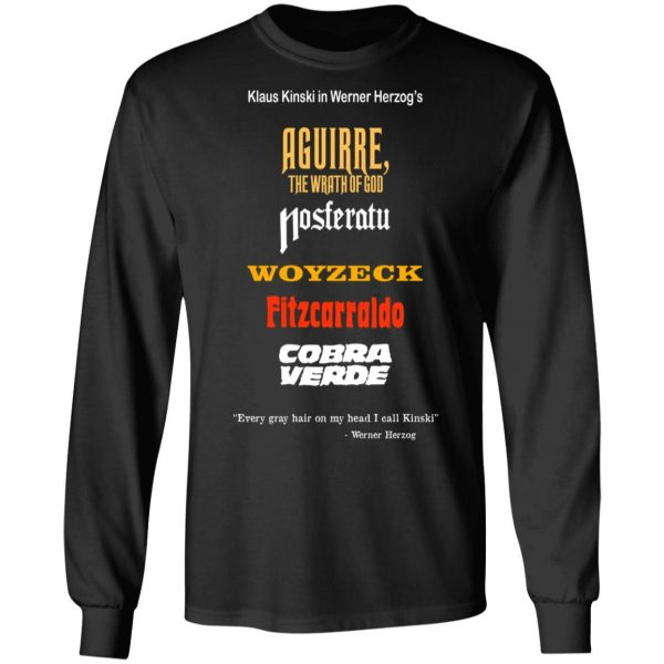 Aguirre The Wrath Of God Nosferatu Woyzeck Fitzcarraldo Cobra Verde T-Shirts, Hoodies, Sweater