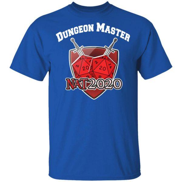 Dungeon Master Nat 20 DnD D20 Dungeons Dragons T-Shirts, Hoodies, Sweater