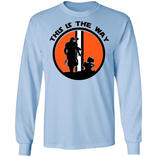 This Is The Way The Mandalorian Silhouette Star Wars T-Shirts, Hoodies, Sweater