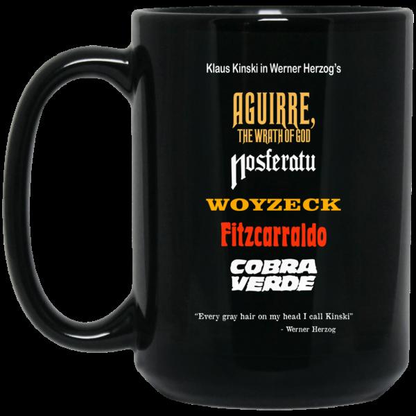 Aguirre The Wrath Of God Nosferatu Woyzeck Fitzcarraldo Cobra Verde 11 15 oz Mug Coffee Mugs 4