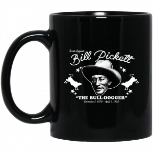 Bill Pickett The Bull-Dogger 11 15 oz Mug