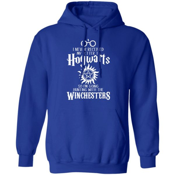 I Never Received My Letter To Hogwarts I'm Going Hunting With The Winchesters T-Shirts, Hoodies, Sweater