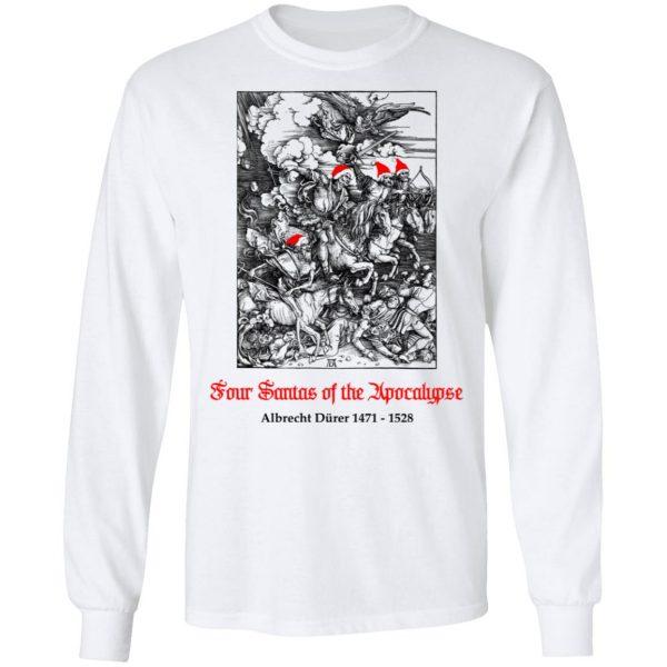 Four Santas Of The Apocalypse Albrecht Dürer 1471 1528 T-Shirts, Hoodies, Sweater
