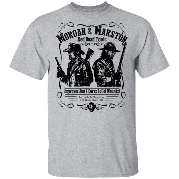 Morgan & Marston Red Dead Tonic T-Shirts, Hoodies, Sweater