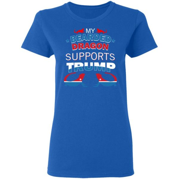 My Bearded Dragon Supports Donald Trump T-Shirts, Hoodies, Sweater