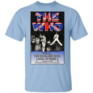The Who The Rock And Roll Hall Of Fame T-Shirts, Hoodies, Sweater