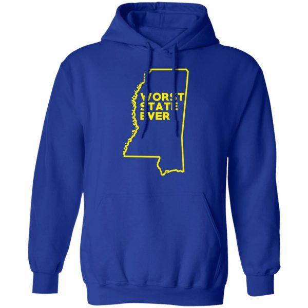 Mississippi Worst State Ever T-Shirts, Hoodies, Sweater Apparel 15