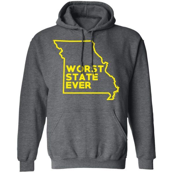 Missouri Worst State Ever T-Shirts, Hoodies, Sweater Apparel 14