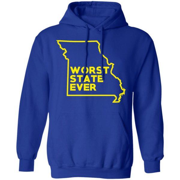 Missouri Worst State Ever T-Shirts, Hoodies, Sweater Apparel 15