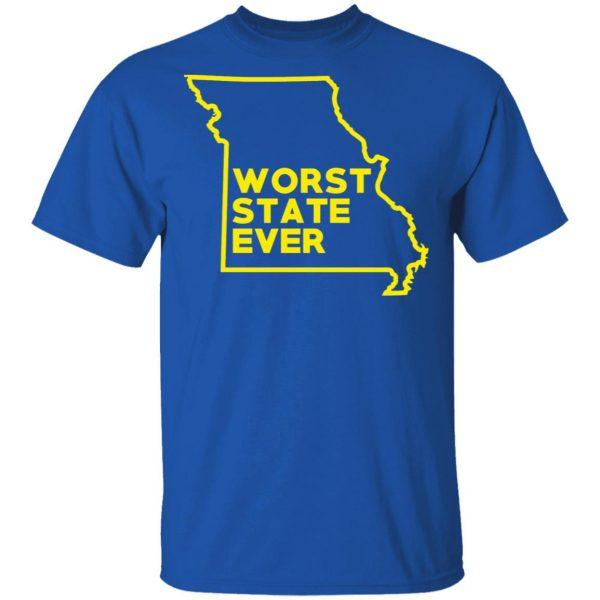 Missouri Worst State Ever T-Shirts, Hoodies, Sweater Apparel 6