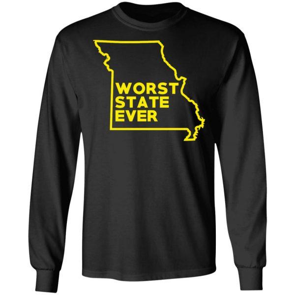 Missouri Worst State Ever T-Shirts, Hoodies, Sweater Apparel 11
