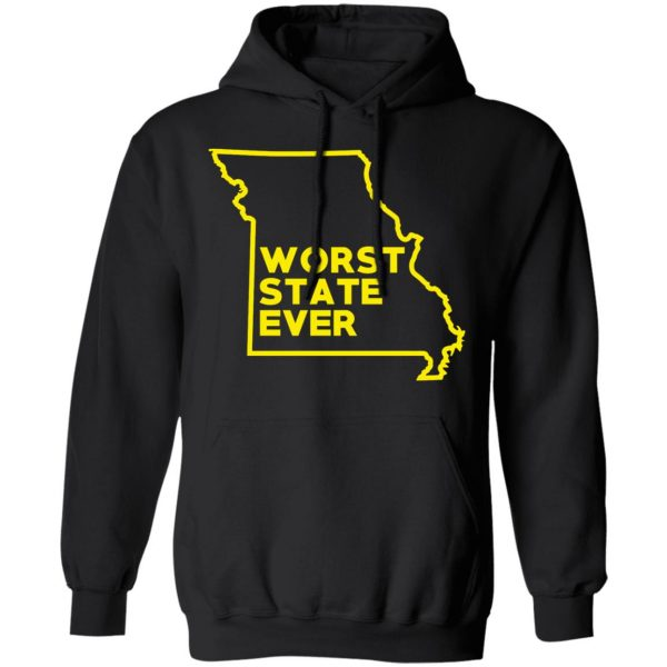Missouri Worst State Ever T-Shirts, Hoodies, Sweater Apparel 12