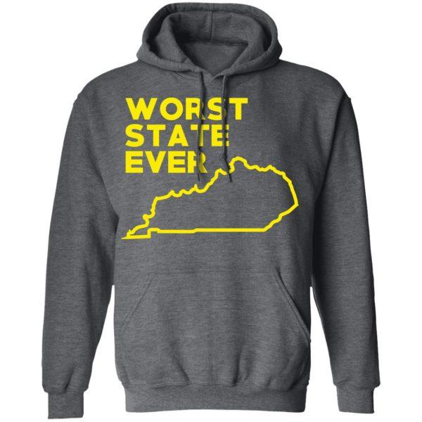 Kentucky Worst State Ever T-Shirts, Hoodies, Sweater Apparel 14