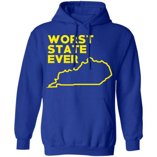 Kentucky Worst State Ever T-Shirts, Hoodies, Sweater Apparel 15