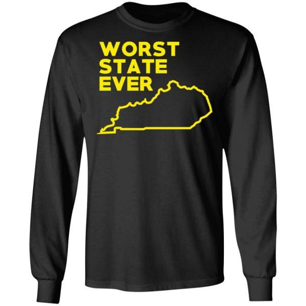 Kentucky Worst State Ever T-Shirts, Hoodies, Sweater Apparel 11