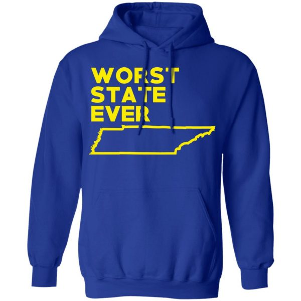 Tennessee Worst State Ever T-Shirts, Hoodies, Sweater Apparel 15