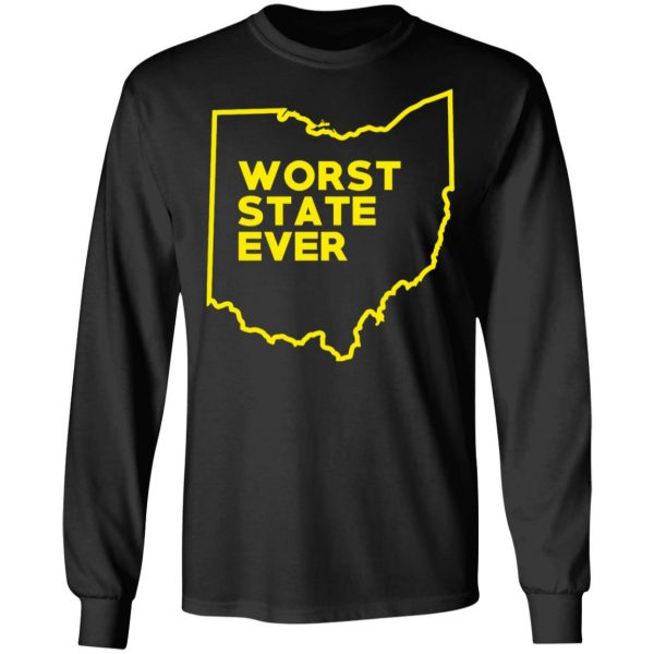 Ohio Worst State Ever T-Shirts, Hoodies, Sweater Apparel 11