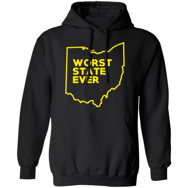 Ohio Worst State Ever T-Shirts, Hoodies, Sweater Apparel 12