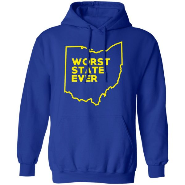 Ohio Worst State Ever T-Shirts, Hoodies, Sweater Apparel 15