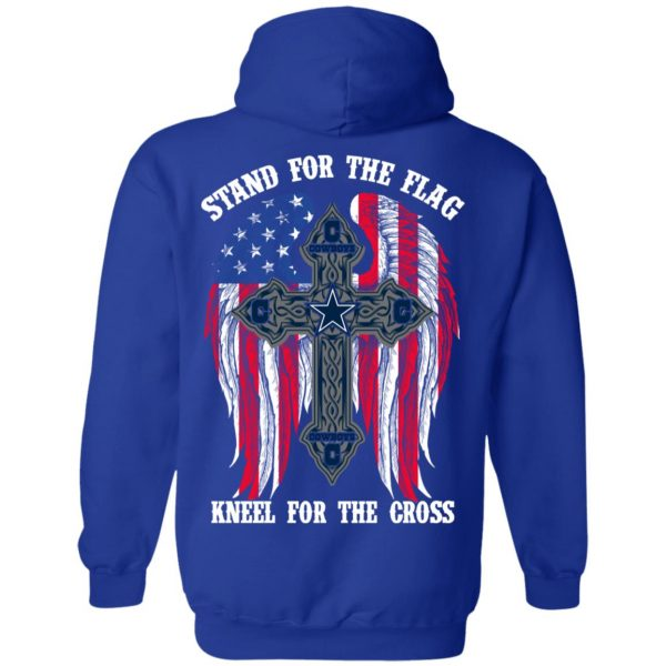 Dallas Cowboys Stand For The Flag Kneel For The Cross T-Shirts, Hoodies, Sweater Apparel 14