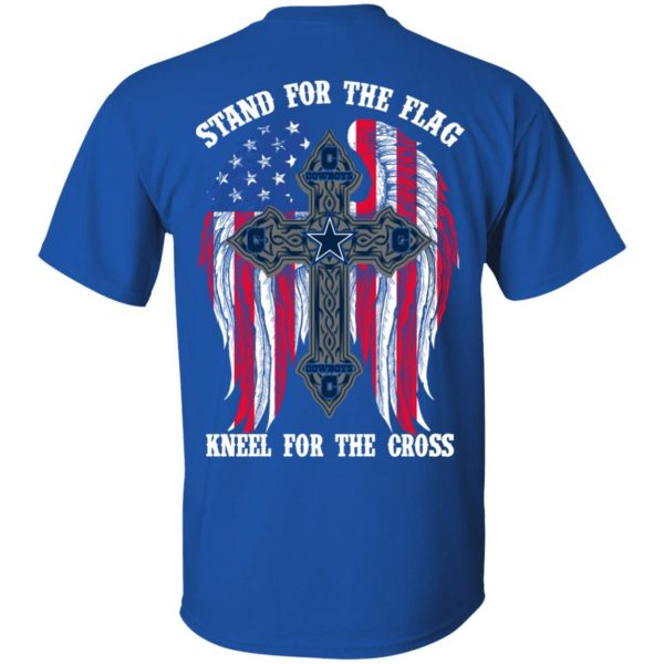 Dallas Cowboys Stand For The Flag Kneel For The Cross T-Shirts, Hoodies, Sweater Apparel 6