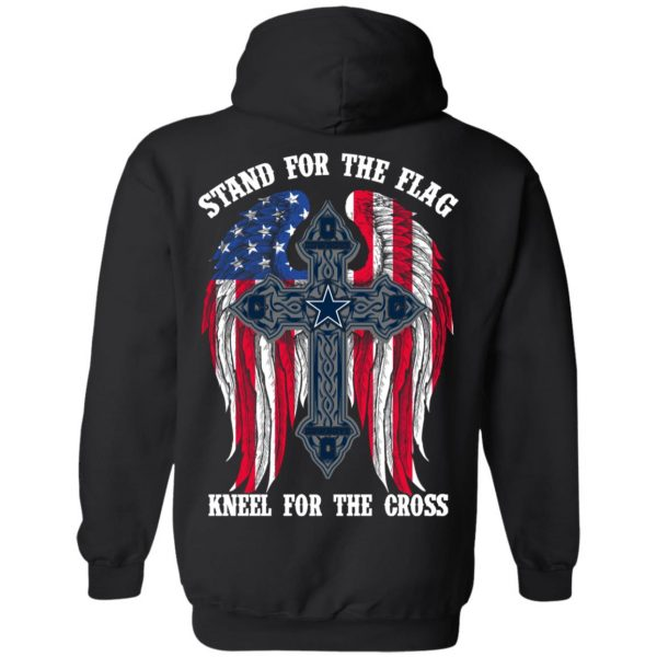 Dallas Cowboys Stand For The Flag Kneel For The Cross T-Shirts, Hoodies, Sweater Apparel 11