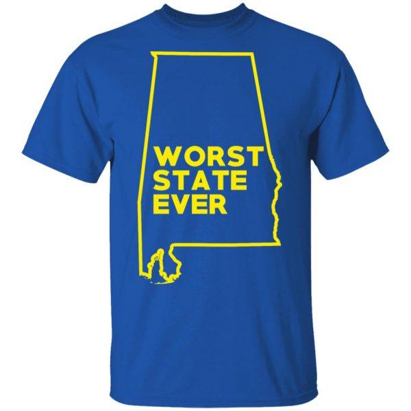 Alabama Worst State Ever T-Shirts, Hoodies, Sweater Apparel 6