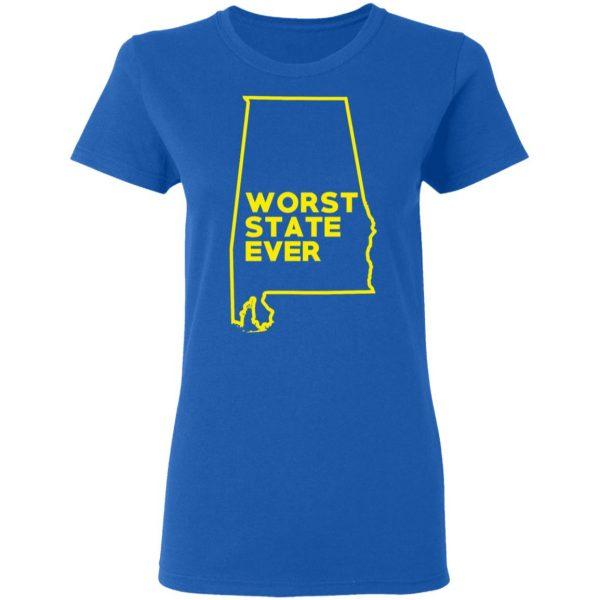 Alabama Worst State Ever T-Shirts, Hoodies, Sweater Apparel 10