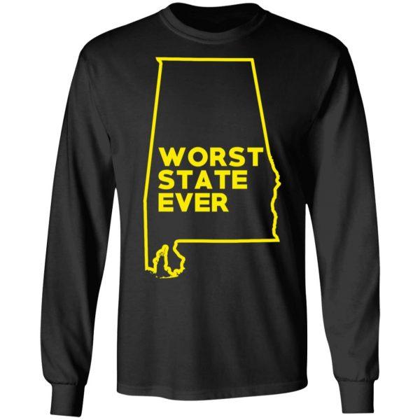 Alabama Worst State Ever T-Shirts, Hoodies, Sweater Apparel 11