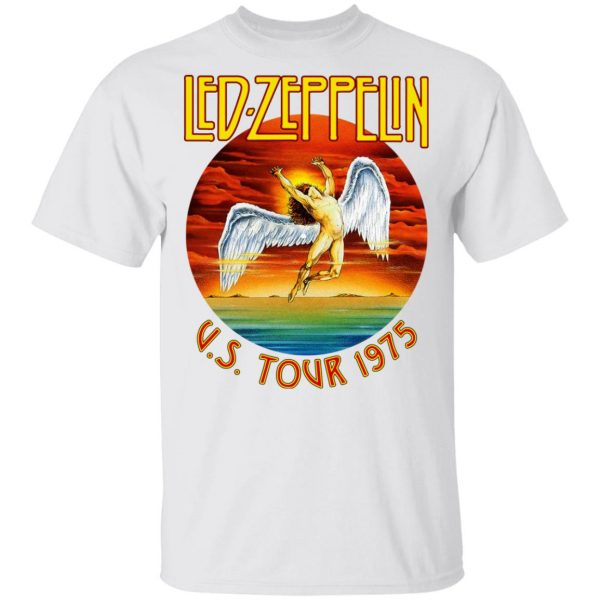 Led Zeppelin US Tour 1975 T-Shirts, Hoodies, Sweater Apparel 4