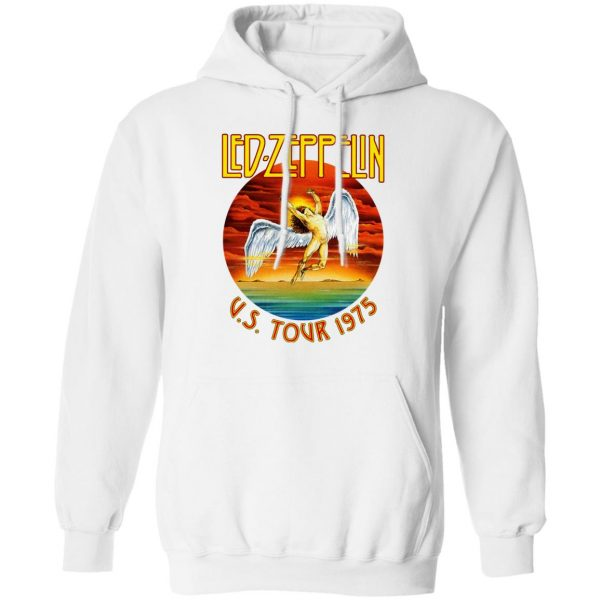 Led Zeppelin US Tour 1975 T-Shirts, Hoodies, Sweater Apparel 13
