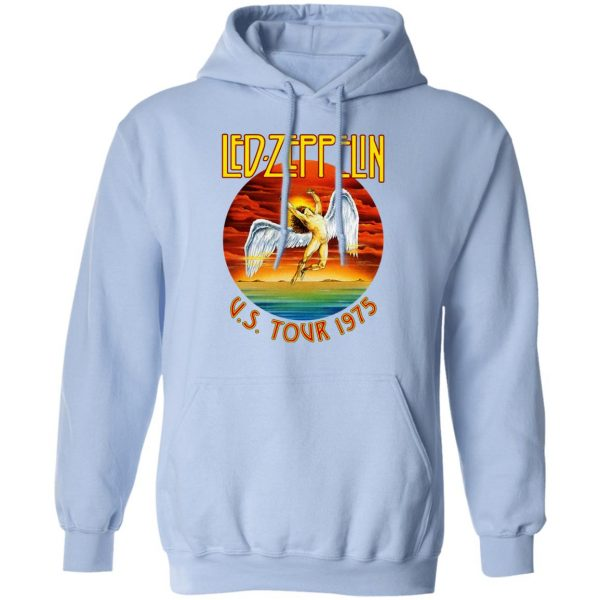 Led Zeppelin US Tour 1975 T-Shirts, Hoodies, Sweater Apparel 14